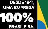 Desde 1941, uma empresa 100% Brasileira