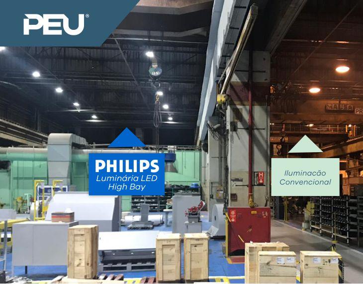 Projeto Luminotécnico em LED PEU e Philips
