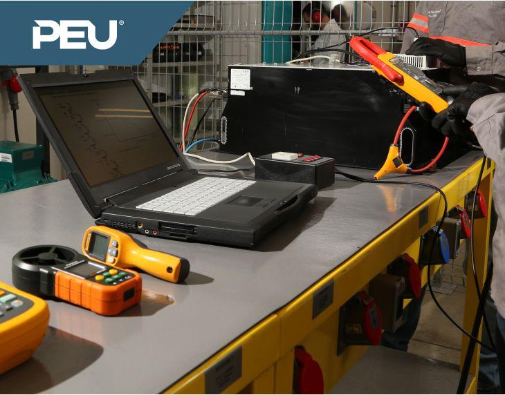 PEU Automação e Serviços – Testes com carga