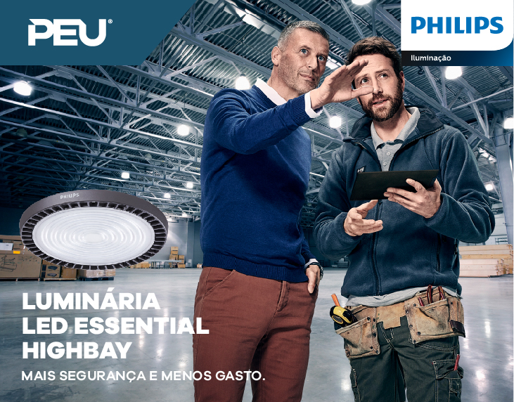 Luminárias Essential HighBay Philips