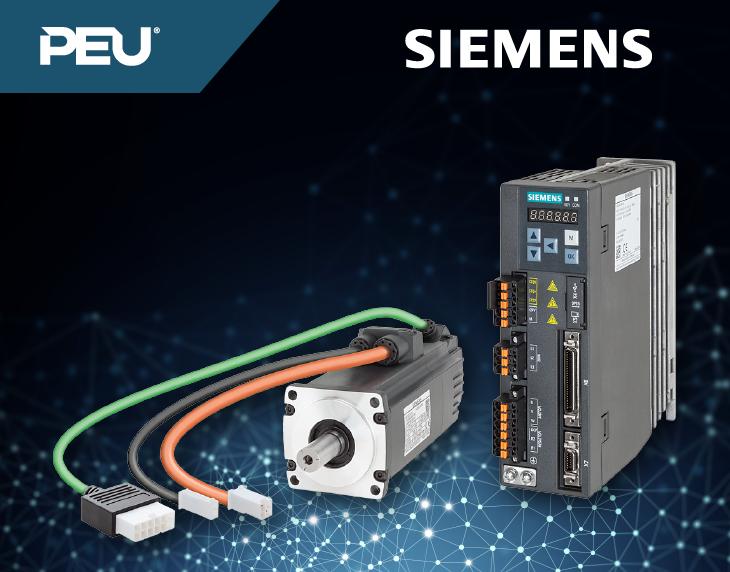 SINAMICS V90 – Seu sistema de servoacionamento ideal.