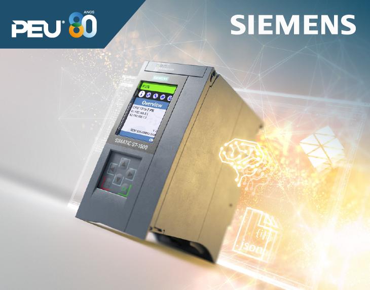 Controlador avançado SIMATIC S7-1500 – Para tudo que pode ser controlado.